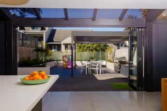 Backyard outlook from inside 85BWigram_Rd_Darren_Long-HDR